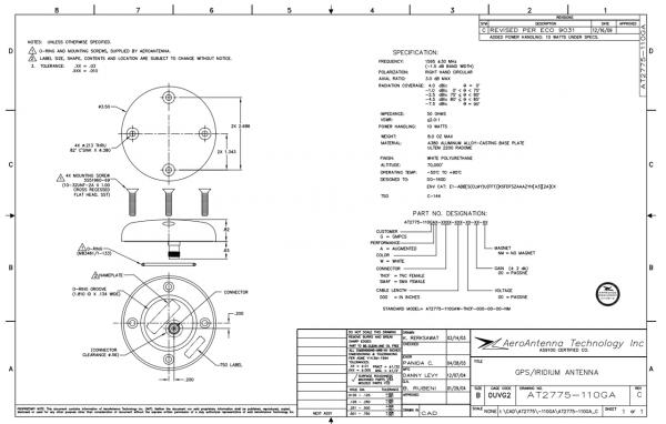 Iridium Passive Antenna