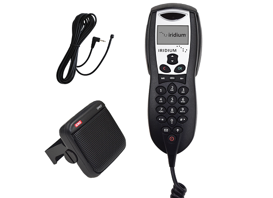 Iridium Intelligent Handset, Speaker, Mic Bundle