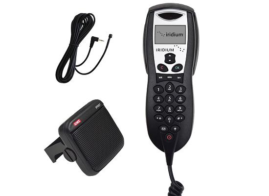 Iridium Intelligent Handset, Speaker, Mic Bundle