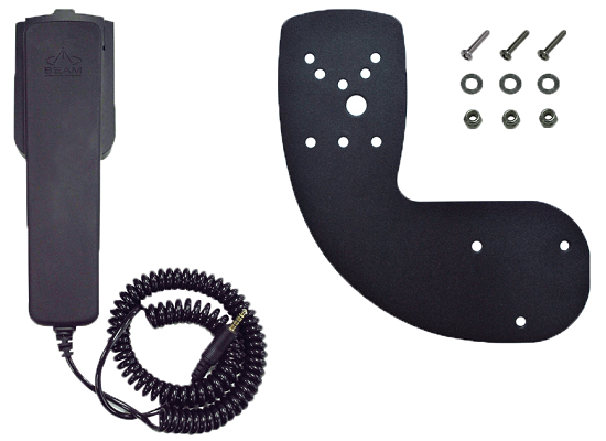 Privacy Handset with Mounting bracket
