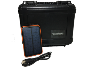 S3 T5000 Hard Case Black with Solar Charger Kit
