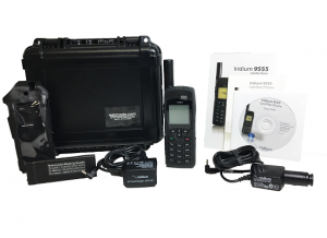 Iridium 9555 Satellite Phone Pre Owned Kit