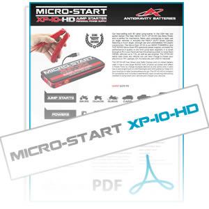 xp10-hd-micro-start-info-sheet