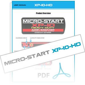 xp10-hd-micro-start-user-instruction-manual