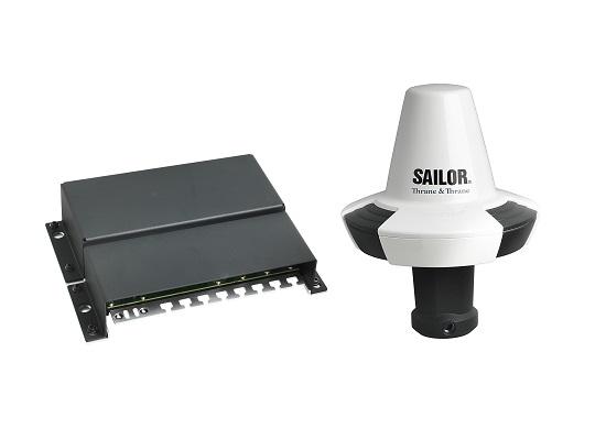 SAILOR 6130 mini-C LRIT System with SAILOR 6194 TCU