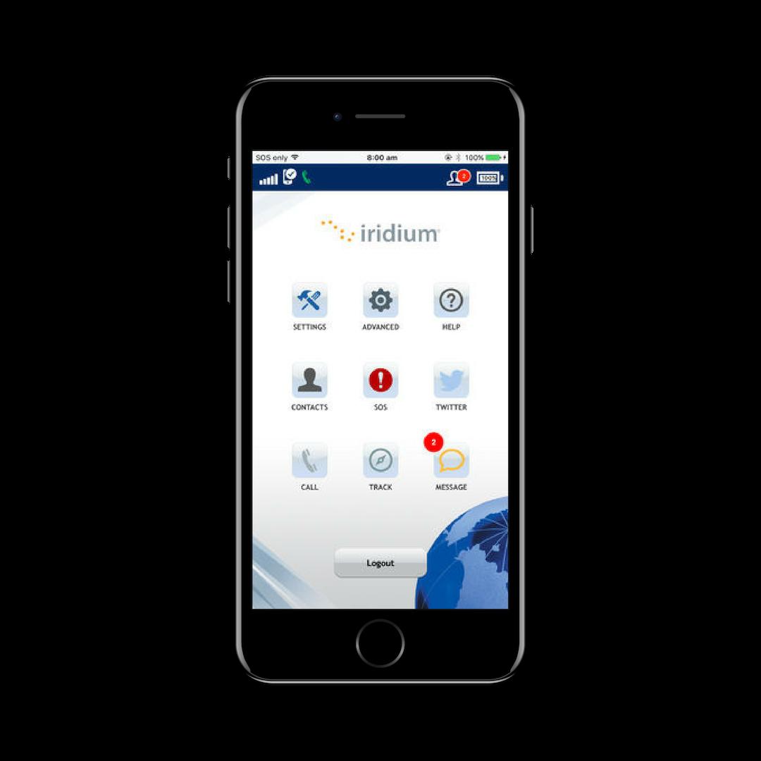 Iridium Go App