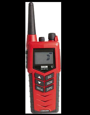 SAILOR 3965 UHF Fire Fighter Radio