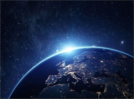 satellite earth