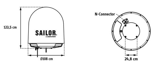 salor fleetboradband diagram