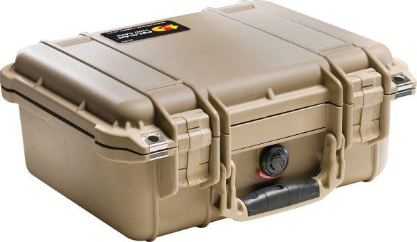 Pelican 1400 Protector Case colour brown