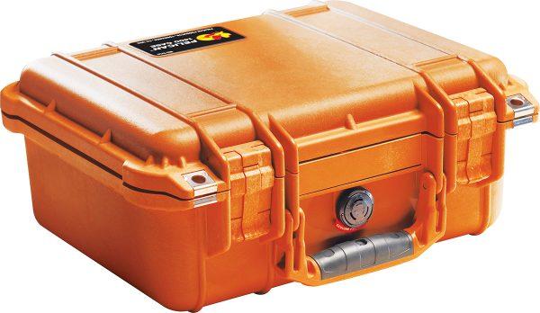 Pelican 1400 Protector Case colour orange