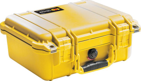 Pelican 1400 Protector Case colour yellow