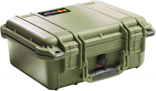 Pelican 1400 Protector Case colour green